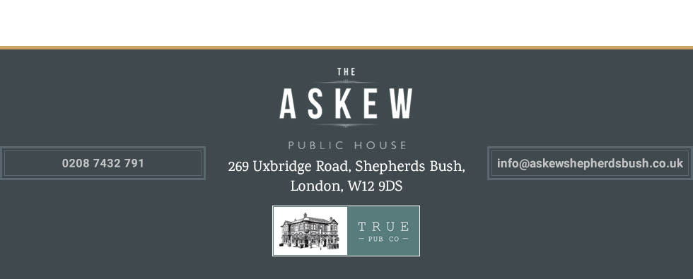 Thanks for visiting The Askew Public House